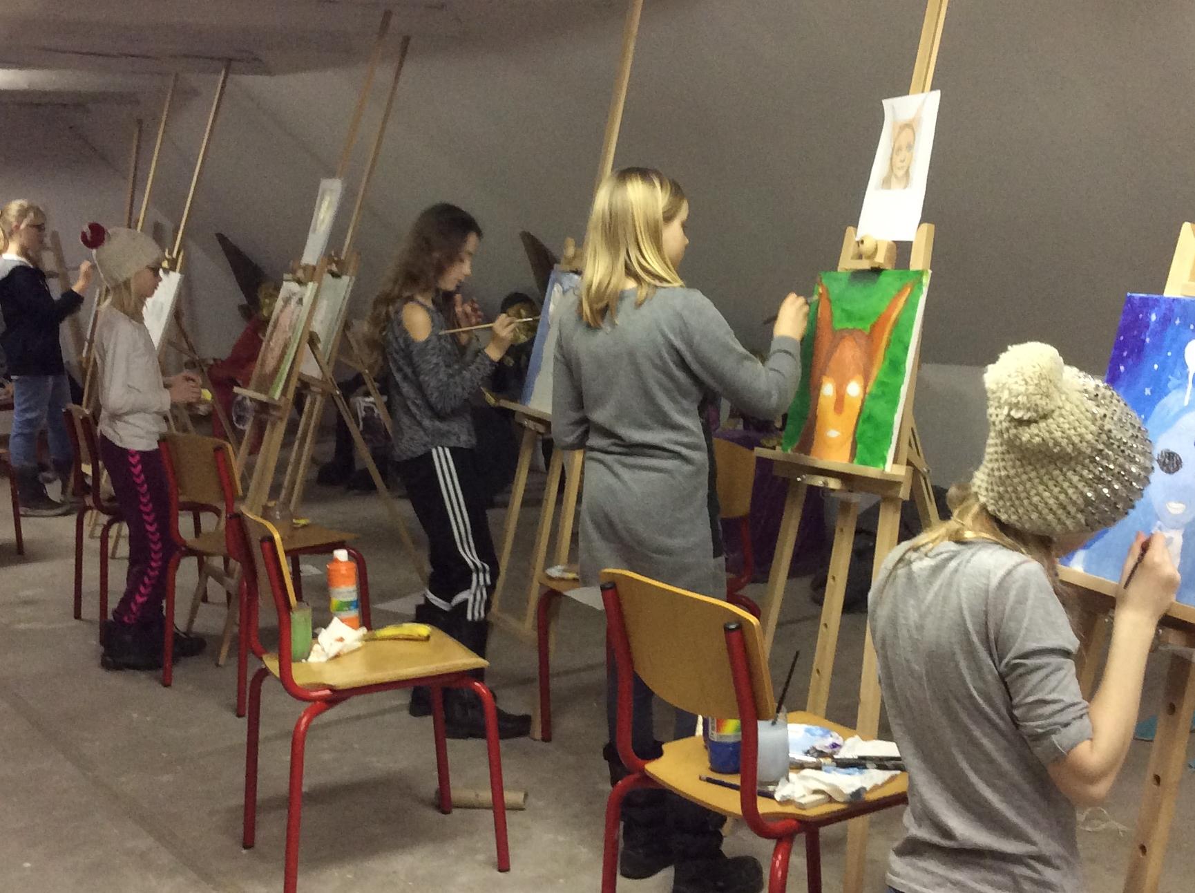 Billedskole Tobaksgården - Tegning og maleri