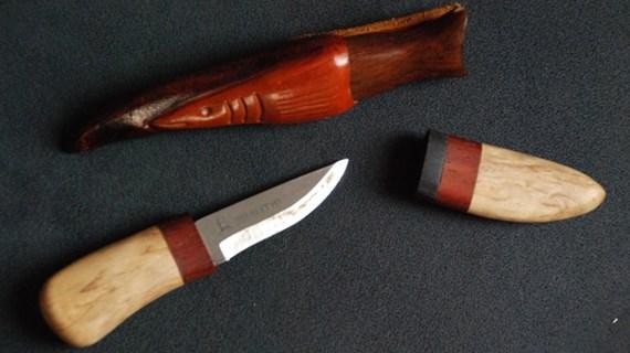 Knivmageri og smykker i ben og horn